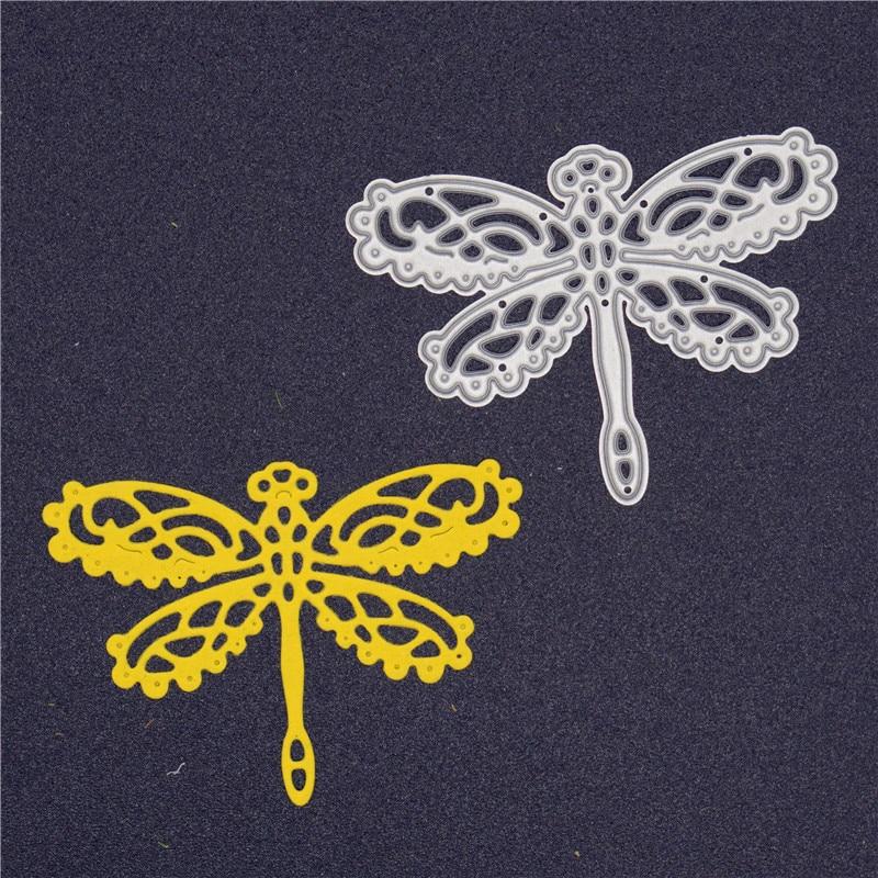 New Dragonfly Metal Cutting Dies Animal Dies Diy Scrapbooking Dies Stencils Embossing Paper Crad Craft