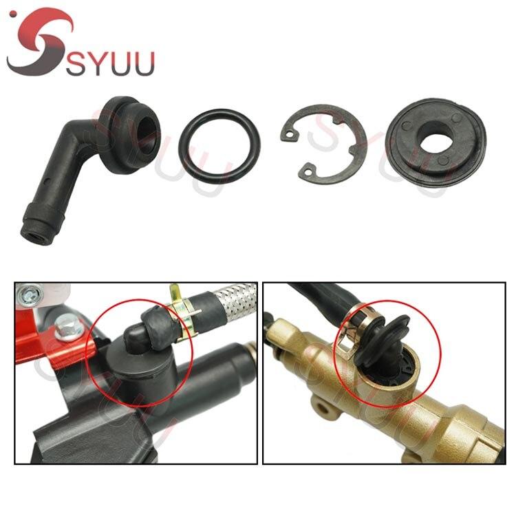 Conector de tubo de aceite de cilindro maestro de freno delantero Universal de motocicleta para Honda CBR600 CBF600 CBR1000 CB400 VTR1000