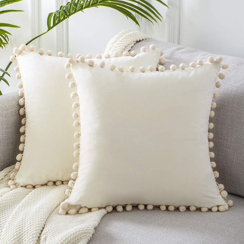 1 قطعة 45-30 سنتيمتر وسادة قطيفة غطاء رمي وسادة تغطي الجسيمات الناعمة الصلبة وسادة يغطي الأريكة غرفة نوم كيس وسادة المخدة