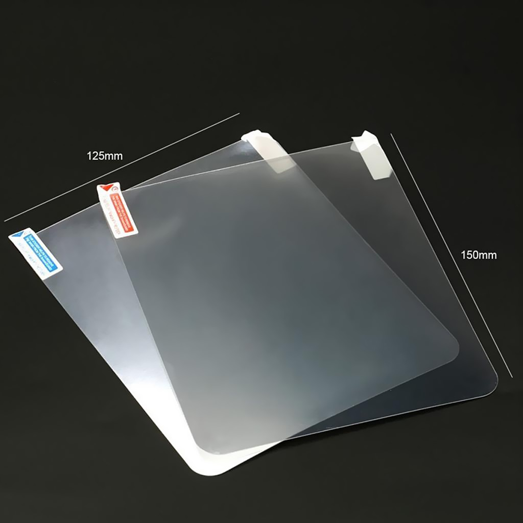 150*125mm HUD teléfono película reflectante Protector de la pantalla HUD película protectora de pantalla de proyección a prueba de polvo