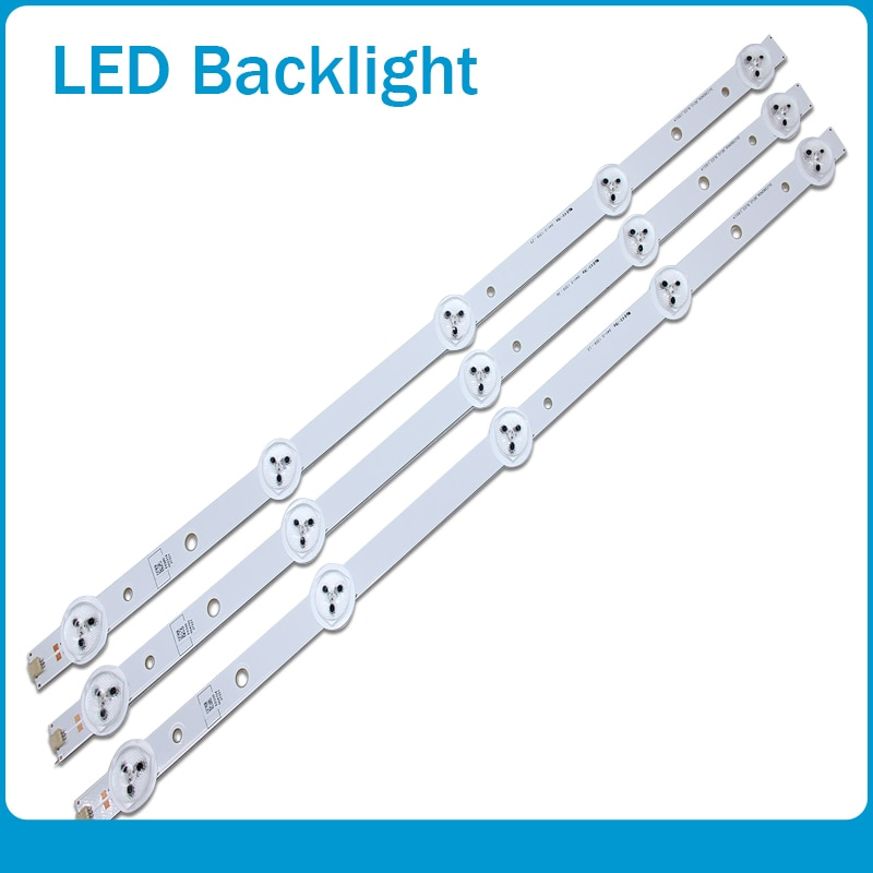 Adecuado para tira de LED original de 39 pulgadas con filtro de lente óptica panel de TV de gran tamaño retroiluminación SW3228 longitud 42 cm
