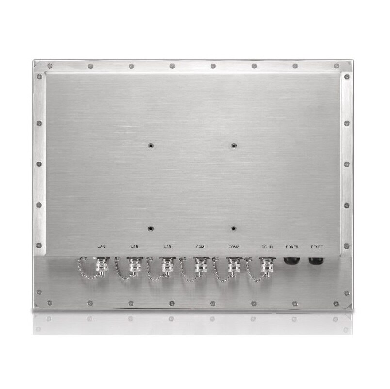 Full IP66 stainless steel panel PC, 15-inch LCD, i3-4005U CPU, 4GB DDR3L RAM ,256GB SSD, IP65 / IP66 waterproof panel pc