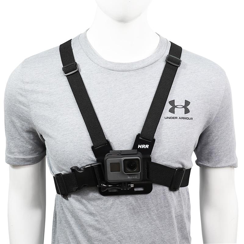 Фото - Chest Strap mount belt for Gopro hero 9 8 7 6 5 4 Xiaomi yi 4K DJI OSMO Action camera Harness for Go Pro SJCAM EKEN Accessories telesin монопод трансформер 3 way с ручкой поплавком для gopro xiaomi sjcam eken
