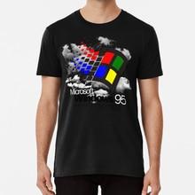 Windows 95 T gömlek boş Banshee boş Banshee Macintosh Macintosh artı artı Seapunk üzgün erkek Sad