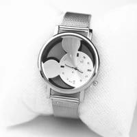 luxury watches fashion quartz hollow ladies casual stainless steel women dress wristwatch reloj mujer