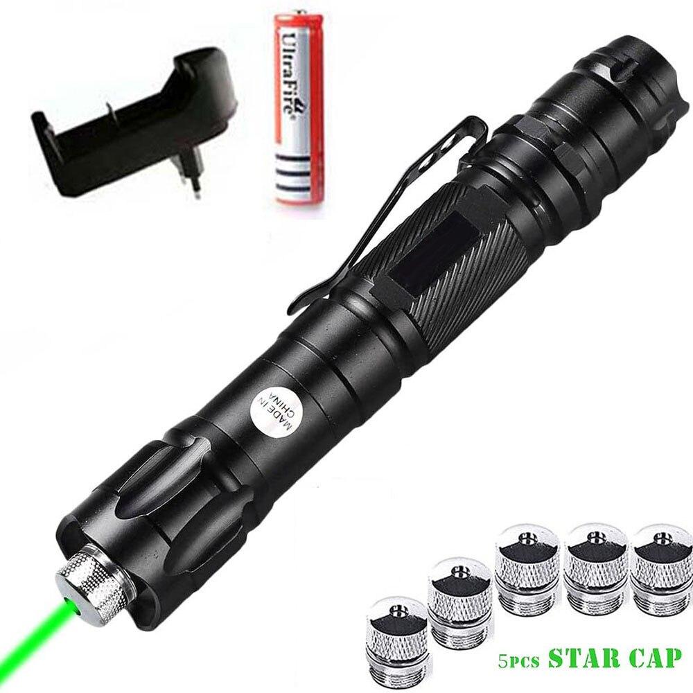 Лазерная указка высокой мощности, 5 мВт, 532 нм