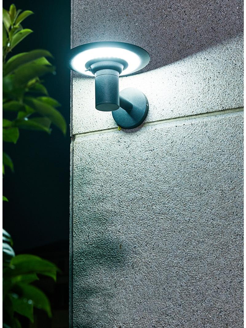 Solar Led Lights Outdoor Waterproof Light Control Lamp Outdoor Led Garden Solar Wall Lamp Decoration Christmas Reflector Panel enlarge