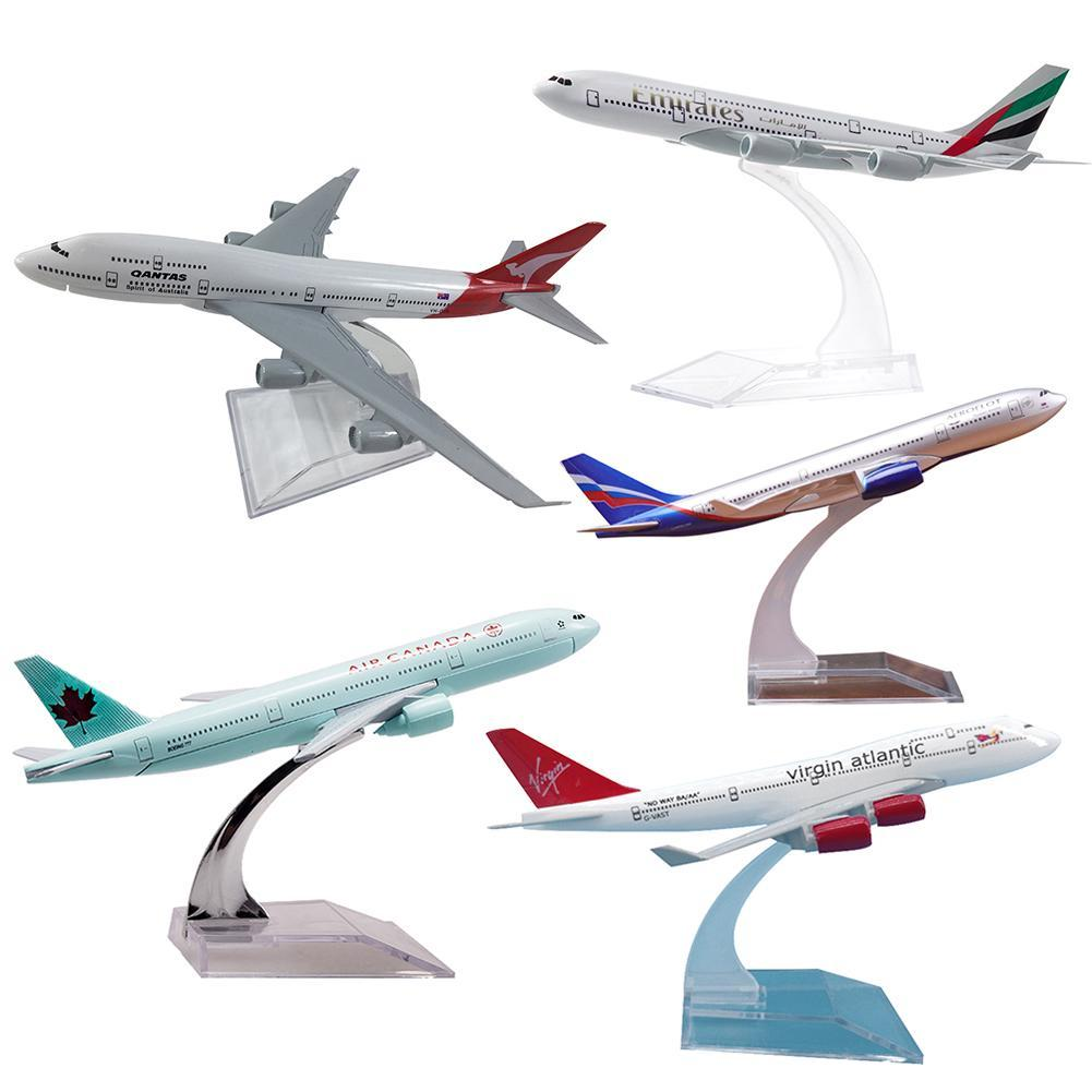 1/400 16cm A330 Kids Plane Model Toy Diacast Airliner Collectible with Base Education Gift New