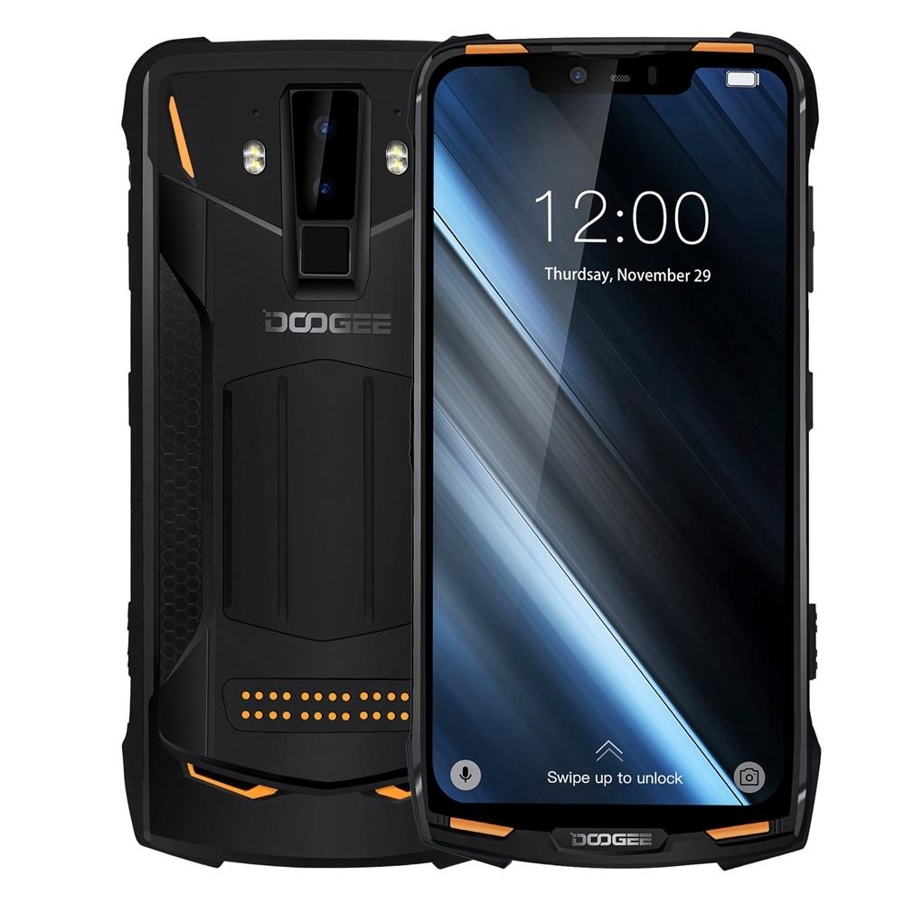 "DOOGEE S90C IP68/IP69K Rugged Phone Android 9.0 Helio P70 Octa-Core 4GB RAM 64GB ROM 6.18"" FHD+ Display 16MP Dual Cams 5050mAh"