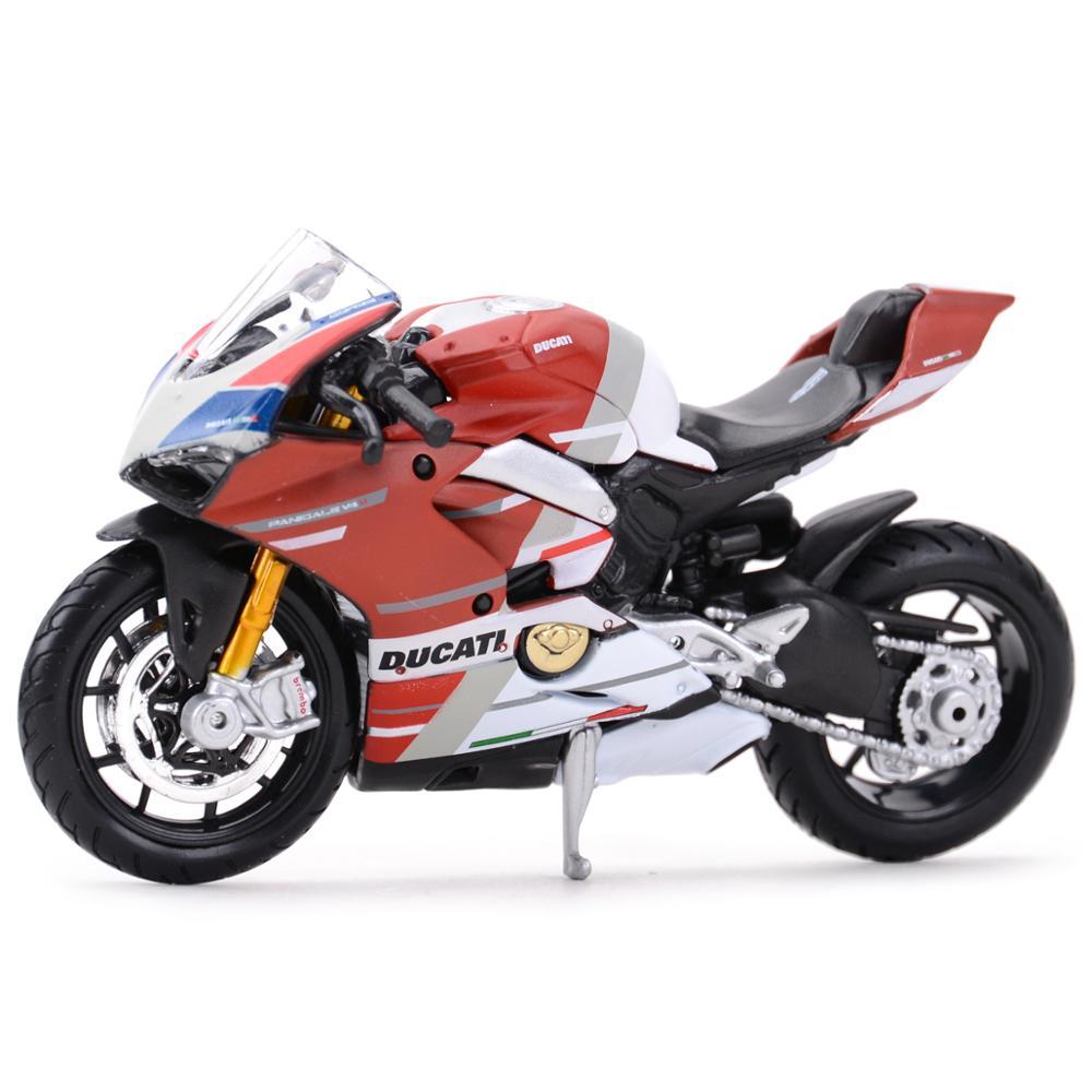 Maisto 118 Ducati-Panigale V4 S Corse vehículos estáticos de fundido a presión coleccionables aficiones juguetes modelo de motocicleta