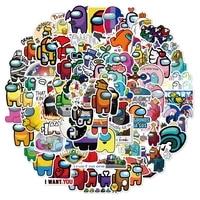 100pcsset graffiti cute stickers detachable stickers trolley case notebook guitar graffiti stickers stationery sticker pack