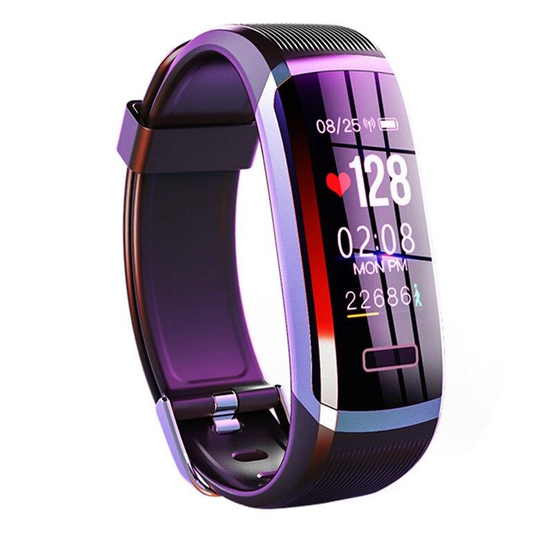 Relojes pulsera inteligente Monitor de ritmo cardíaco rastreador de Fitness IP67 impermeable hombre mujer reloj inteligente deporte para Android iOS