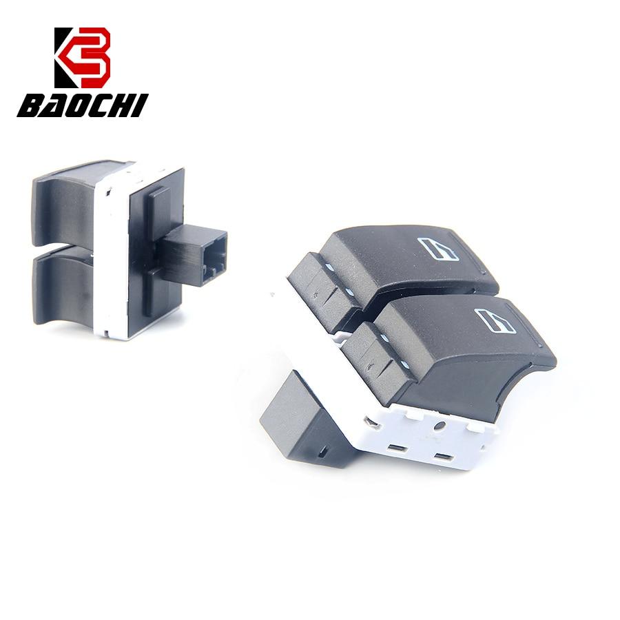 2PCS Driver Side Auto Electrical Window Switch Button 7E0959855A 7E0 959 855A  for Volkswagen Transporter T5 2009-2014 Multivan