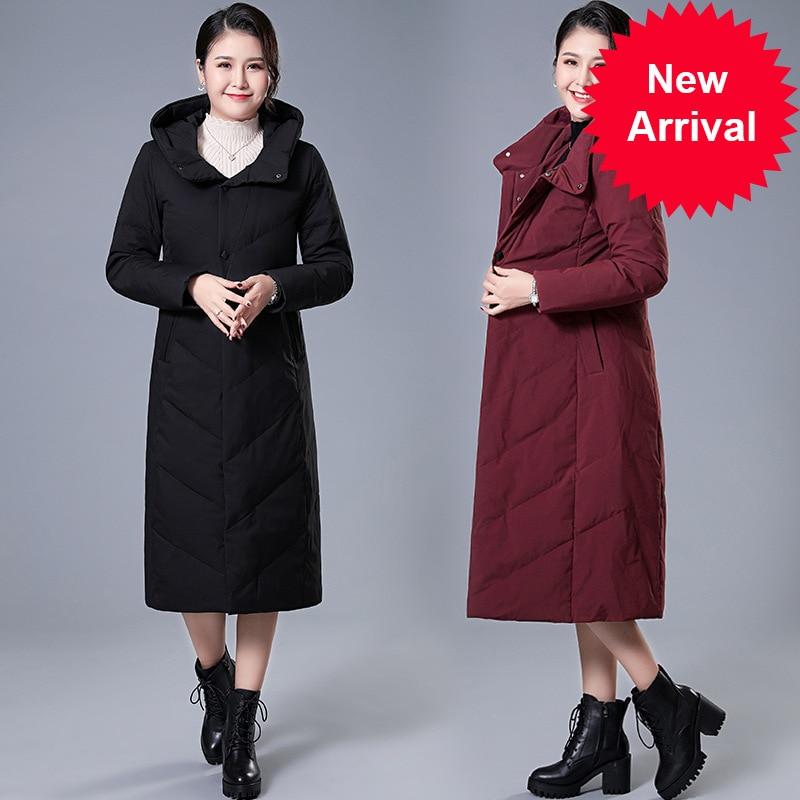 Hiver Long 2020 modèle veste femme manteau chaud mode femmes Parkas haute qualité Bio-Down femmes manteau nouveau Design