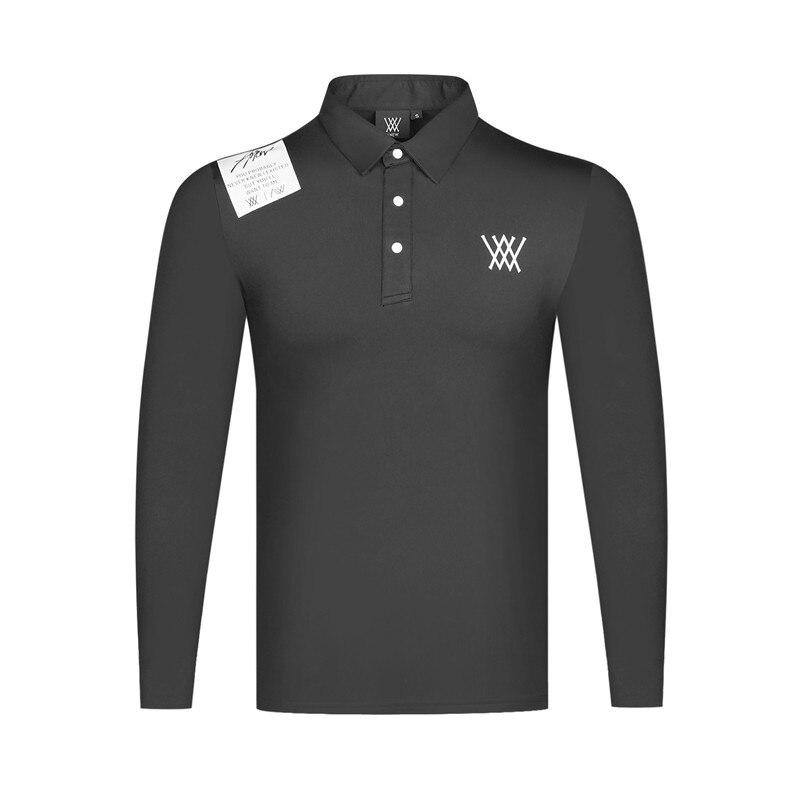 Nueva ropa de golf de manga larga de primavera para hombre