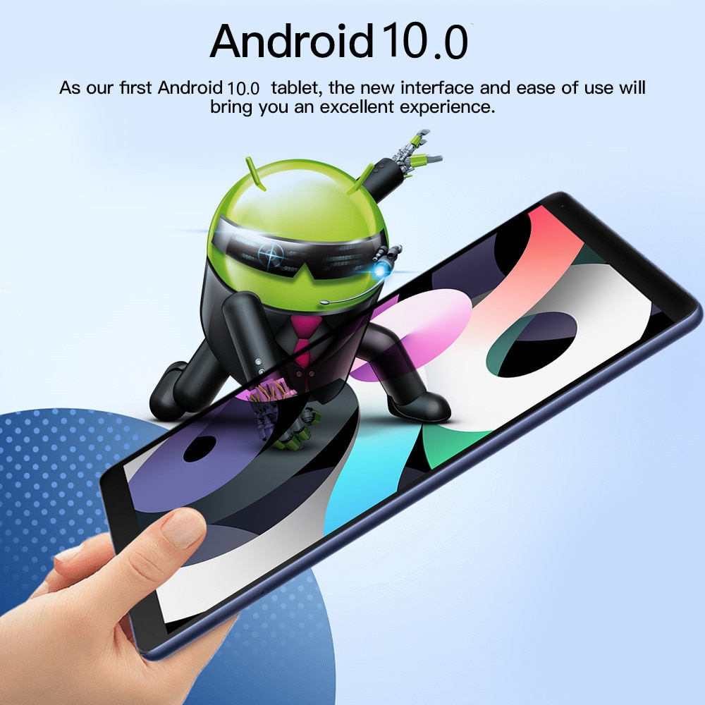 8 inch'' Tablet android 6GB RAM 128GB ROM Network Gaming laptop MT6797 4G 10 Core Tablet PC android 10.0 Wifi Type-C