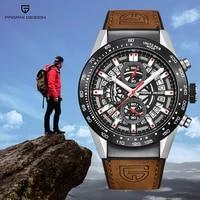 pagani design quartz sport mens watches military waterproof watch men chronograph top luxury watches for men relogio masculino
