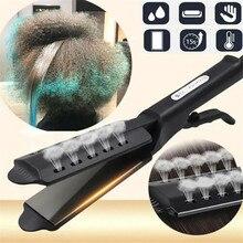 Hair Straightener 4 Gear Adjustment Temperature Hair Straightening Tourmaline Ceramic Ionic Flat Iro