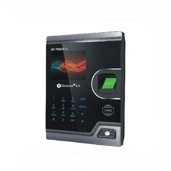Realand 2.8inch TCP/IP Wifi RFID Biometric Fingerprint Time Attendance System Machine Employee Office Fingerprint Free 10 cards
