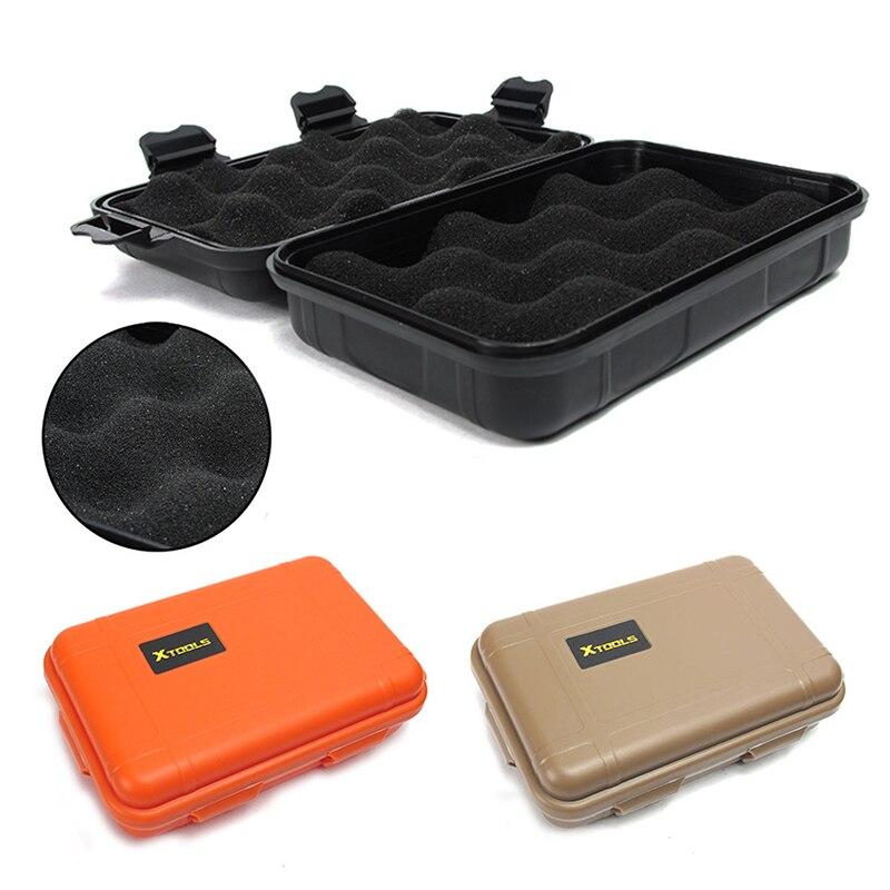 Caja de Kit de supervivencia al aire libre, Caja Sellada impermeable portátil a prueba de golpes, estuche de almacenamiento hermético para Kayak al aire libre