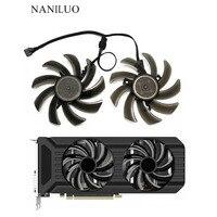 2 шт./компл. 87 мм (90 мм) GA91S2U GPU VGA карта кулер подходит для Palit GeForce GTX 1080 1070Ti 1070 1060 видеоролив к