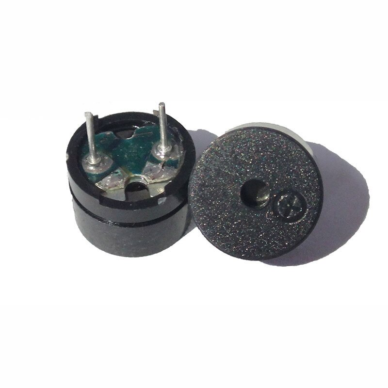 Impedância eletromagnética passiva, buzzer passiva universal 16 ohms ac/2 khz 3 v 5 v 12 v, universal 10 pçs/lote