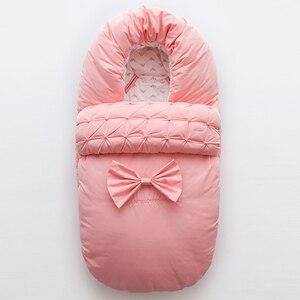 Милый розовый детский спальный мешок Кокон конверт для новорожденных спальные мешки одеяло детская коляска детский спальный мешок для нов...