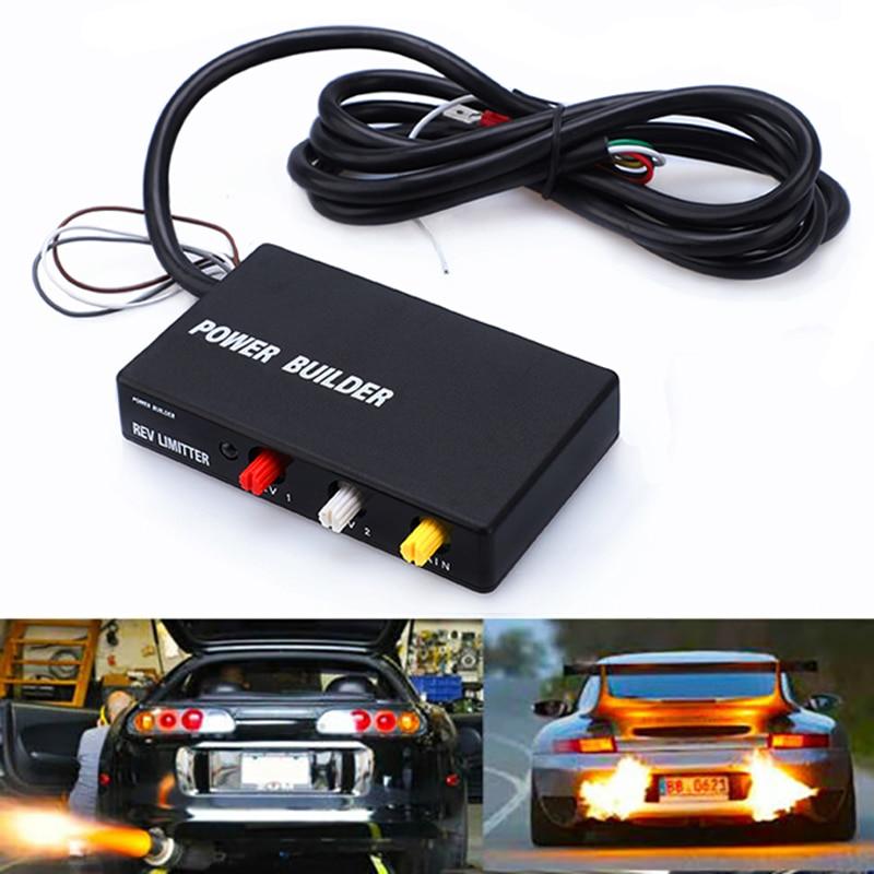 Modyfikacja samochodu nowy producent mocy wyścigi typu B Rev ogranicznik zwalniający sterowanie rura wydechowa urządzenie zapłonowe zestaw płomienia
