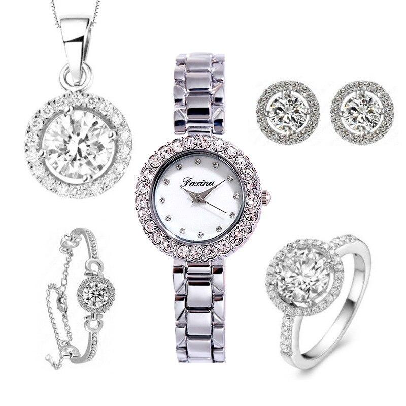 Women's watch five pieces set fashion waterproof trend watch wholesale enlarge