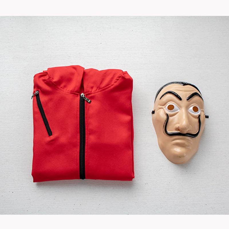 Festa de halloween salvador dali cosplay máscara de filme dinheiro assalto a casa de papel la casa de papel cosplay máscara facial Fantasias de filme & TV    -