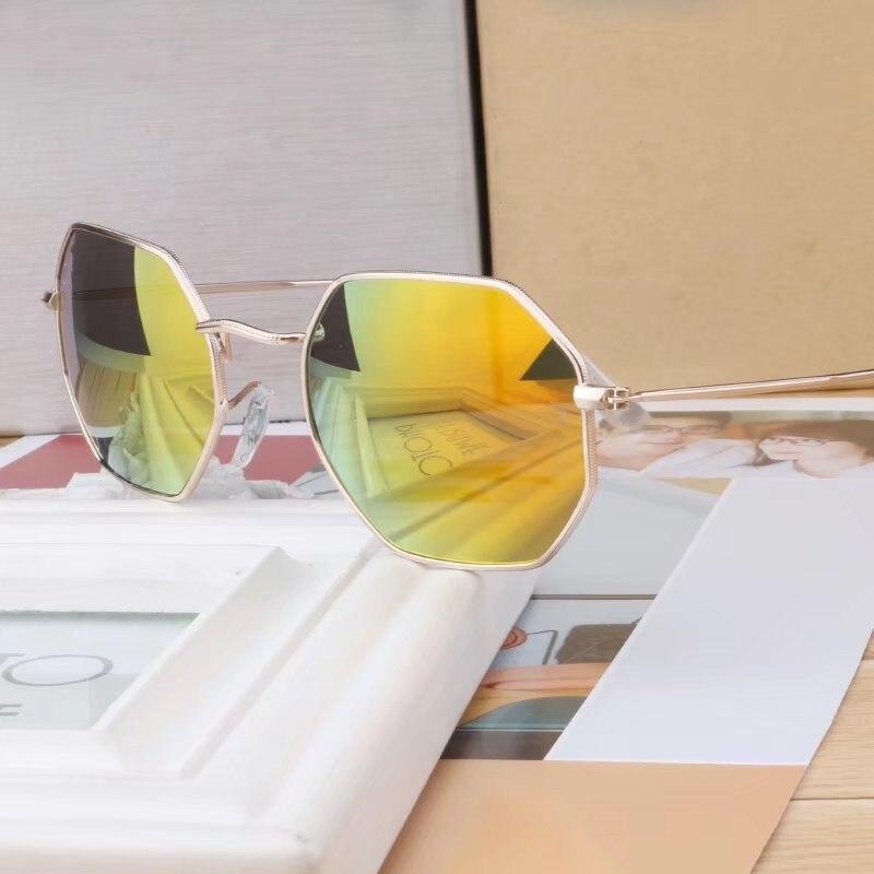 New Style Man Sunglasses Vintage Pilot Brand Designer Sun Glasses Polarized UV400 Women Fashion Sunglasses With Box and Case A8