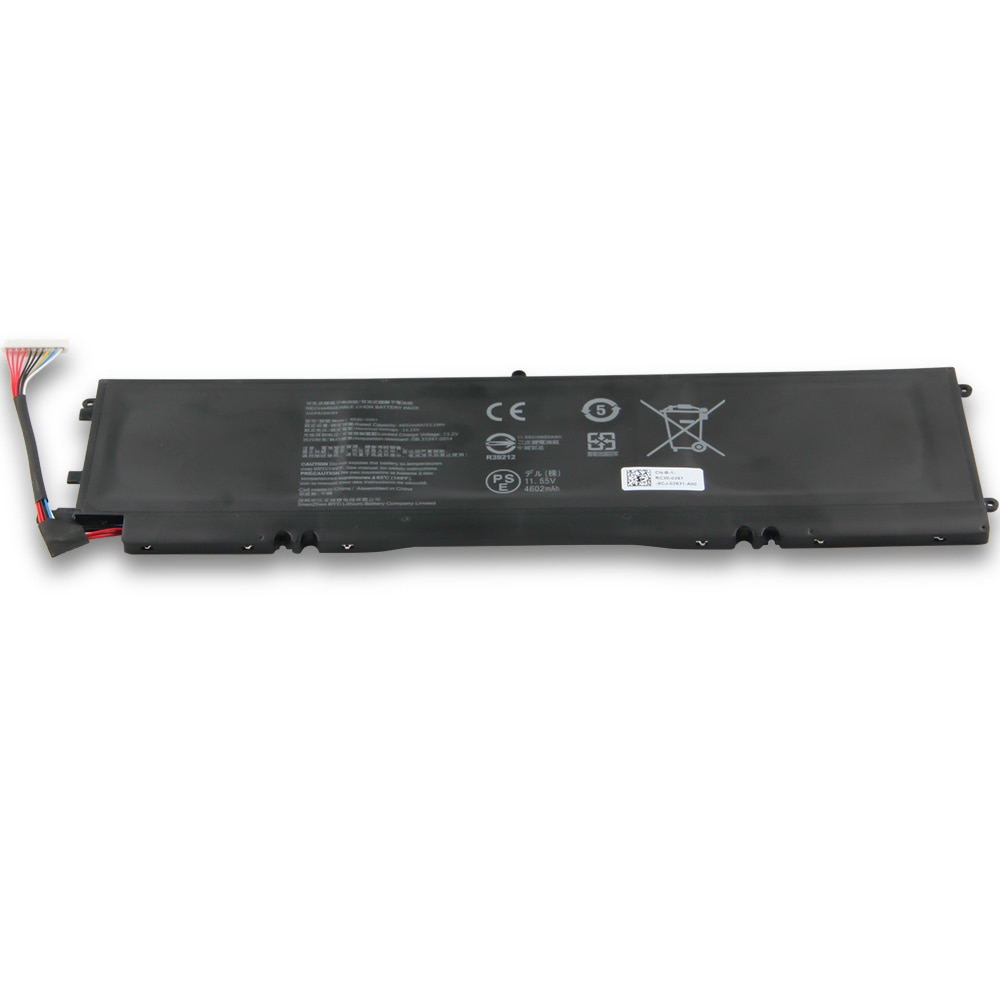 Replacement Laptop Battery RC30-0281 RZ09-0281 For Razer Blade Stealth 13 2018 2019  Genuine Rechargeable Battery 4602mAh enlarge