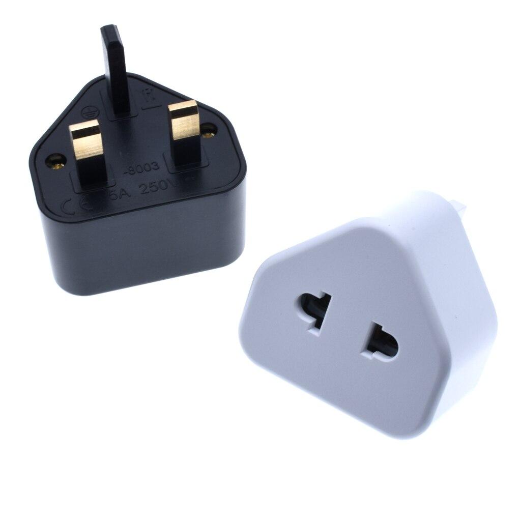 EU US 2-контактный в UK 3-контактный разъем Универсальный адаптер переменного тока дорожный преобразователь Британский G Тип Стандартный входн...