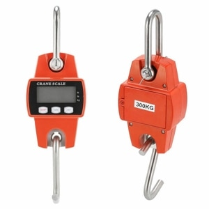 300kg Crane Scale Handheld Digital Battery Charging LCD Digital Balance Hanging Electronic Scales For Farm Market
