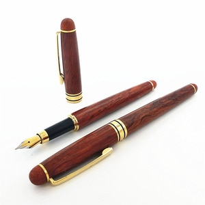1pcs Upscale Business Office Gift Pen Fashion Rosewood Fountain Pens Creative Office School Supplies Writing Pens