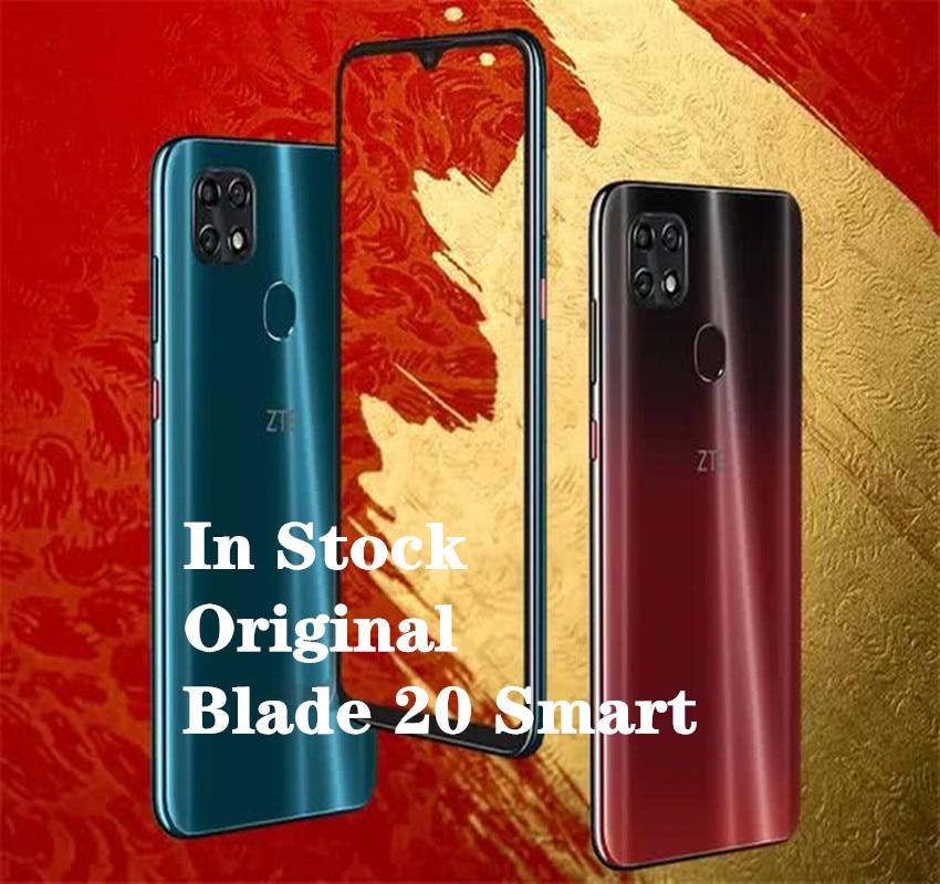 "Новый оригинальный Смартфон zte Blade 20 6,49 ""Helio P60, четыре ядра, 4 Гб ОЗУ, 128 Гб ПЗУ, Android 9,0, МП, отпечаток пальца"
