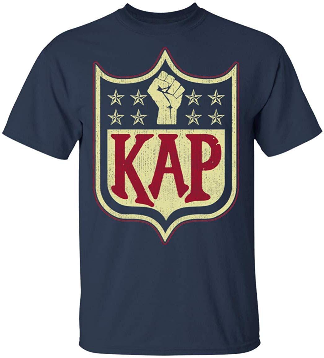 """Camiseta con estampado de hielo para hombre y mujer, Camiseta con estampado """"Im With Kap Take A Knee"""", disponible en varias tallas y colores"""