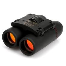 30x60 rouge Film haute puissance jumelles Portable Mini-télescope militaire jumelles télescope télescopique de haute qualité livraison gratuite