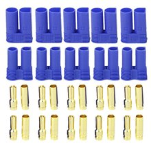 5Pairs EC5 Banana Plug Bullet Connector Female Male for RC ESC Motor RC Quadcopter FPV Racing Drone