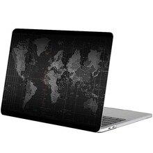 "Mapa świata pełna okładka naklejka na laptopa dla Macbook Pro 16 ""Air Retina 11 12 13 15 cali HP Mac Book ochronna naklejka na notebooka"