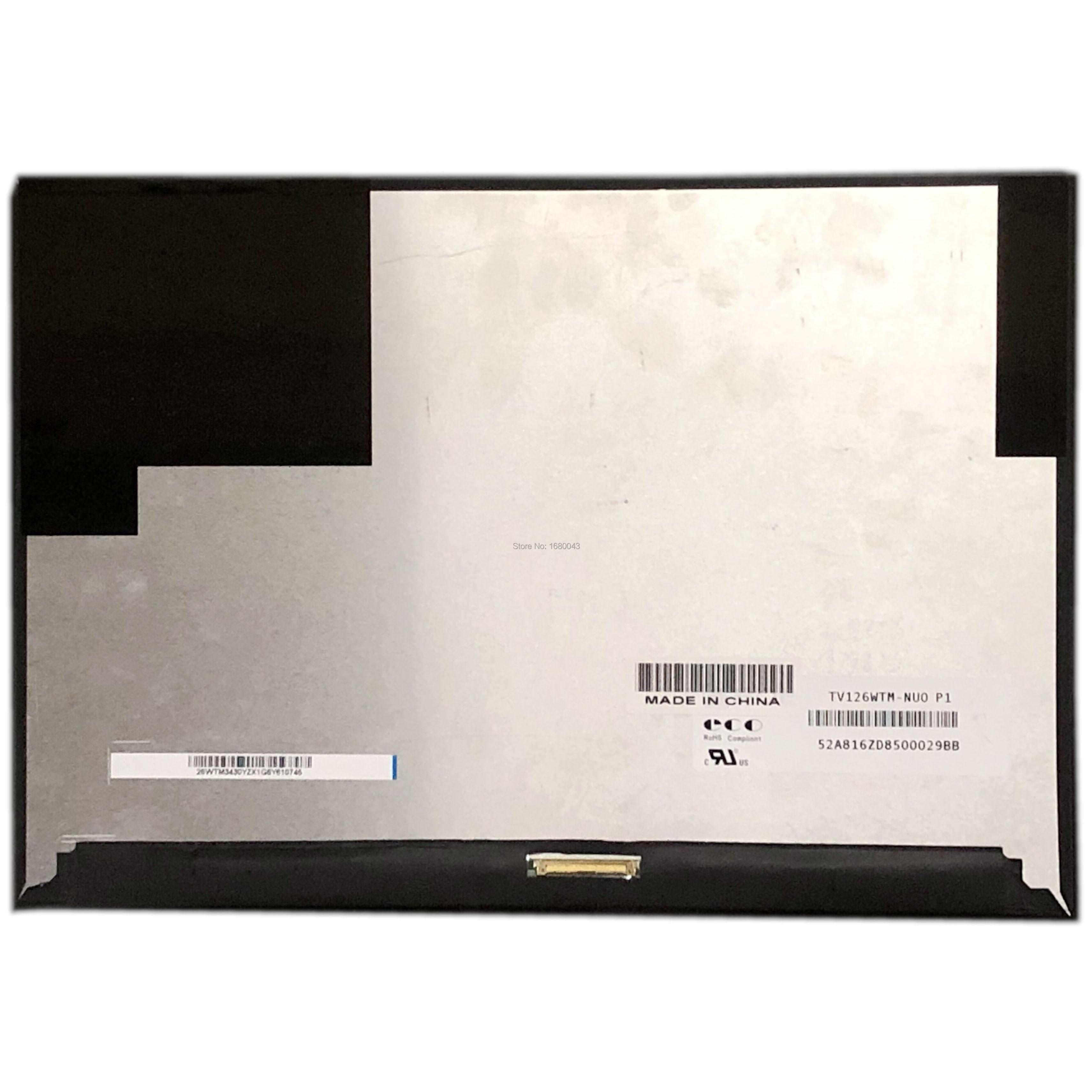 TV126WTM-NU0 P1 12,6 2160X1440 LCD SCREEN PANEL Matrix Ersatz