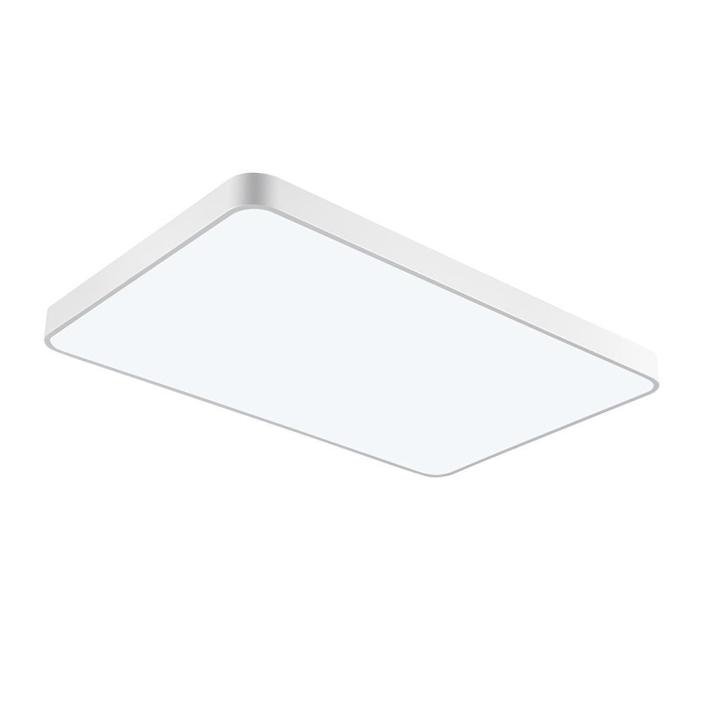 ¡En STOCK! Luz LED empotrable de techo ultrafino de 72W para baño, cocina, salón, luces de techo cuadradas