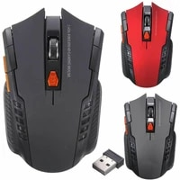 2 4ghz gaming mouse optical wireless mouse gamer for computer 2000dpi 6 keys wireless mice with usb receiver for pc laptop gamer