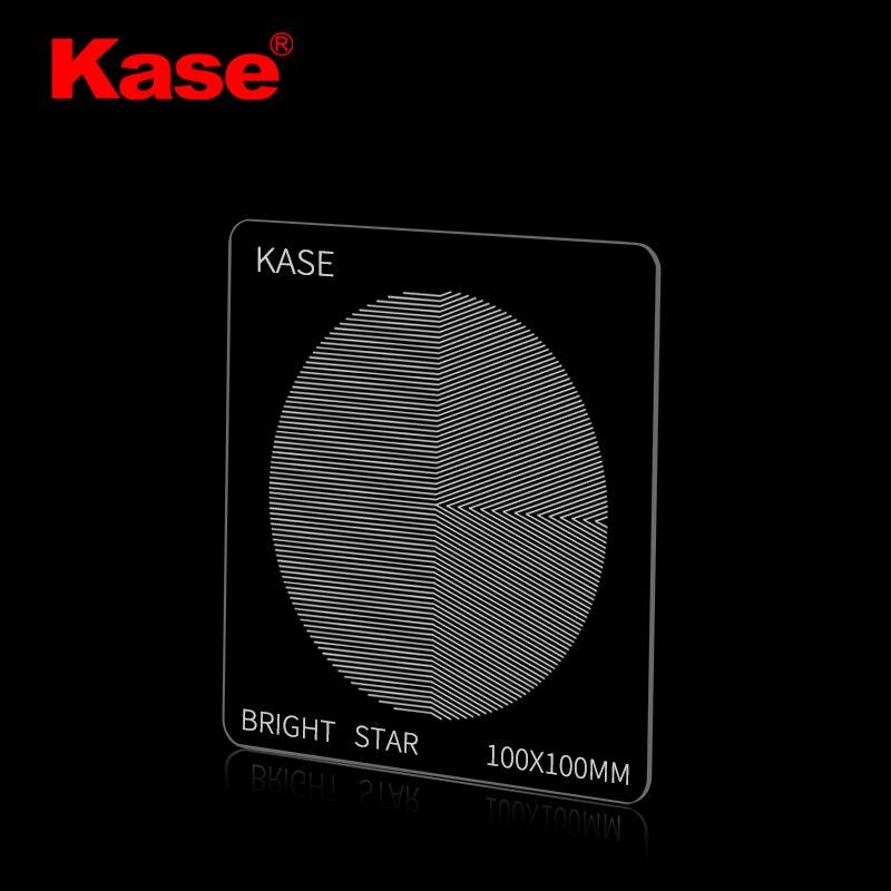 Kase-مرشح التركيز Star ، مرآة الكاميرا مع مشهد ليلي ، قفص السماء ، 100 × 100 مللي متر