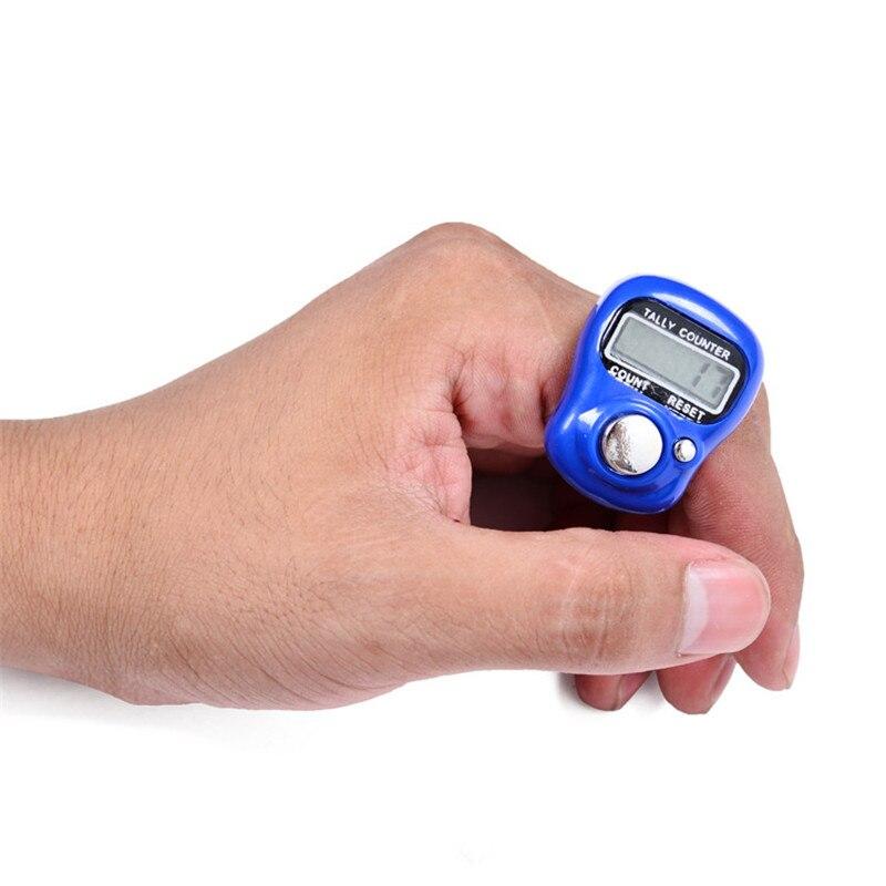 1 шт. швейные инструменты аксессуар швейное вязаное кольцо ЖК электронный стежок маркер ручной счетчик большого пальца