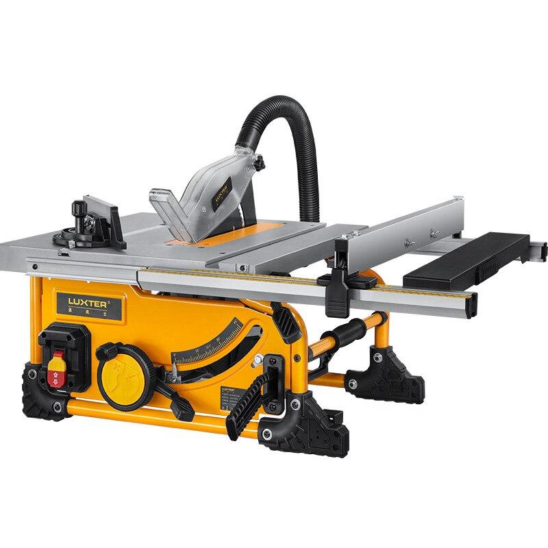 8 بوصة آلة قطع الخشب الخالي من الغبار سطح المكتب الميكانيكية الصغيرة المحمولة النجارة منشار الطاولة المنزلق