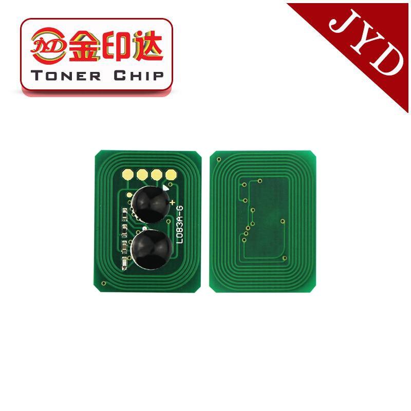1 43459304 de 43459303 a 43459302 de 43459301 chip de restablecimiento de Tóner para Okidata OKI C3600 C3300 C3400 C3450 C3530 MC360 toner chip
