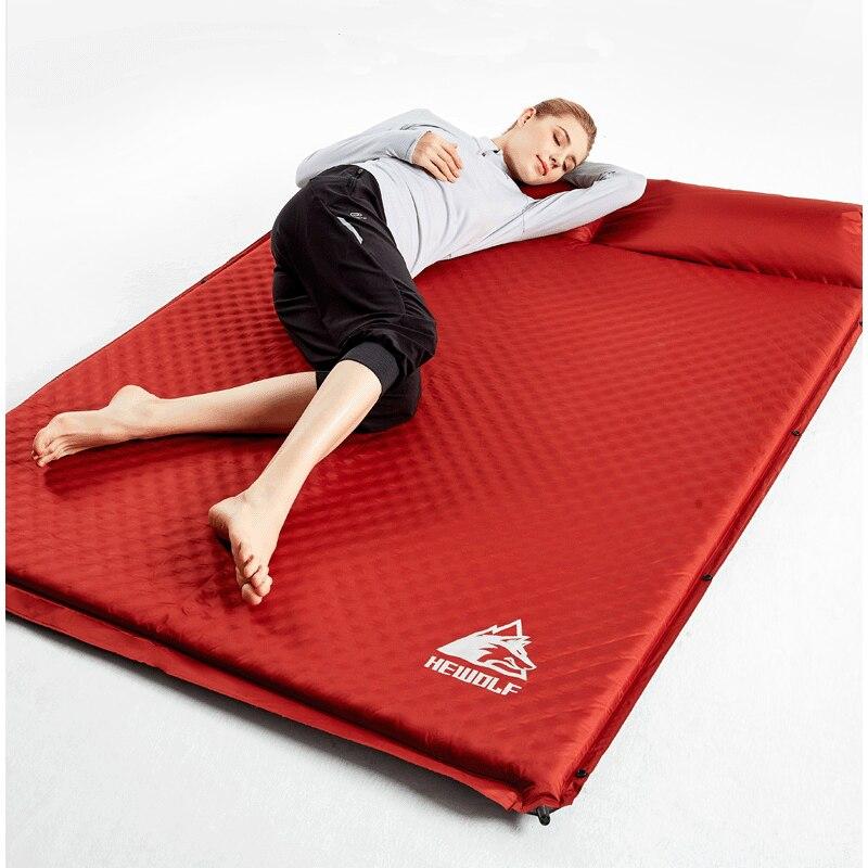 2 человека Автоматический надувной матрас пляжная подушка коврик для пикника Hking велосипедная Автомобильная задняя секс-кровать для пикника путешествия на открытом воздухе кемпинг коврик