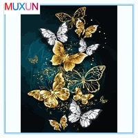 diamond embroidery painting puzzle 5d full christmas diamond painting square rhinestone abstract mosaic butterfly pattern lx413