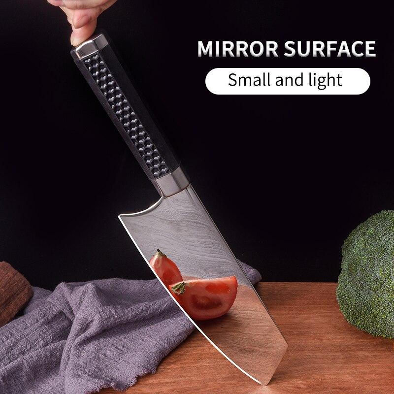 سكين المطبخ الصيني مرآة ضوء سكين المطبخ ، سيدة سكين المطبخ اللحوم الساطور ، سكين المطبخ سكينة للطبخ ، وليس rالصدأ دائم